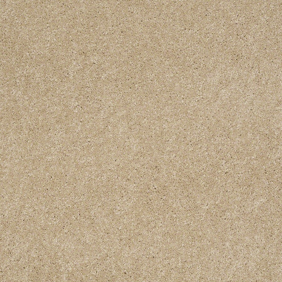 Shaw Supreme Delight 2 Nevada Sand Rectangular Indoor Tufted Area Rug (Common: 8 x 11; Actual: 96-in W x 132-in L)