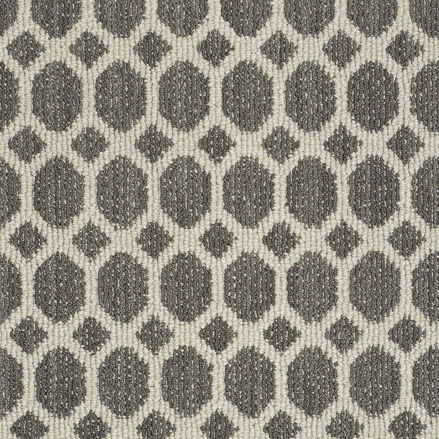 Shaw All The Rage Chateau Rectangular Indoor Tufted Area Rug (Common: 6 x 9; Actual: 72-in W x 108-in L)