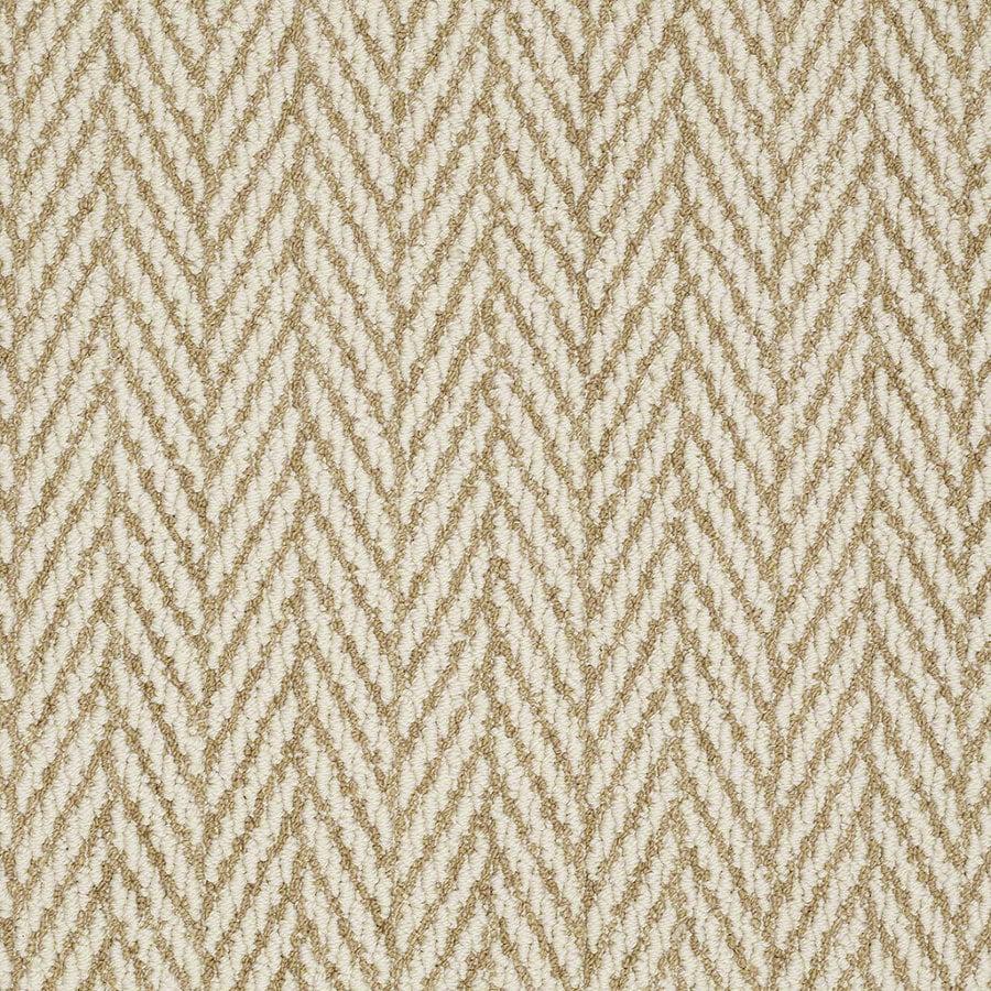 Shaw Apparent Beauty Desert Tan Rectangular Indoor Tufted Area Rug (Common: 6 x 9; Actual: 72-in W x 108-in L)