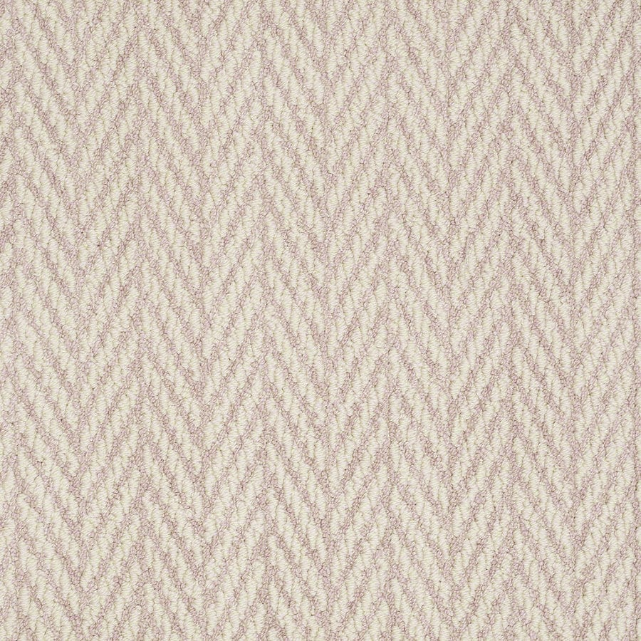 Shaw Apparent Beauty Sweet Pink Rectangular Indoor Tufted Area Rug (Common: 6 x 9; Actual: 72-in W x 108-in L)