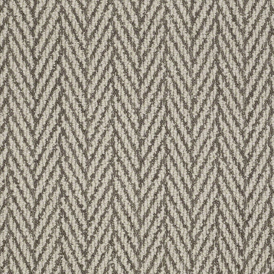Shaw Apparent Beauty Windsor Gray Rectangular Indoor Tufted Area Rug (Common: 8 x 11; Actual: 96-in W x 132-in L)