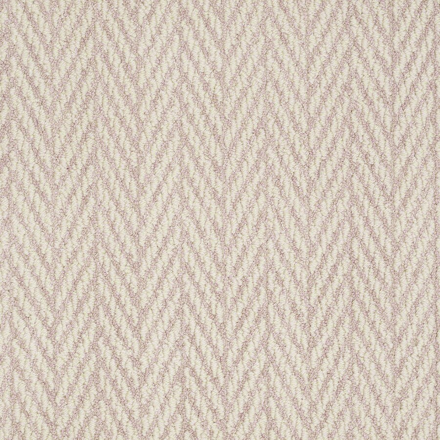 Shaw Apparent Beauty Sweet Pink Rectangular Indoor Tufted Area Rug (Common: 8 x 11; Actual: 96-in W x 132-in L)
