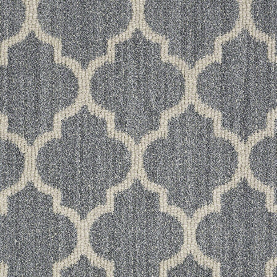 Shaw Rave Review Bay of Hope Rectangular Indoor Tufted Area Rug (Common: 8 x 11; Actual: 96-in W x 132-in L)