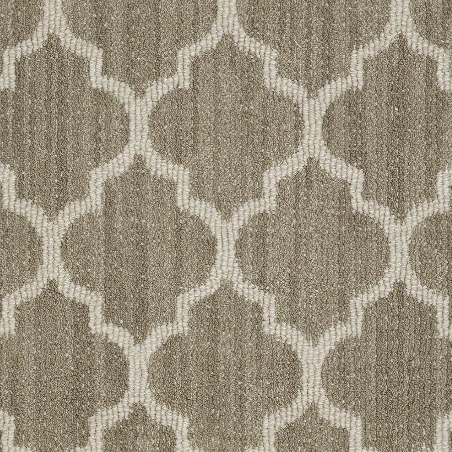 Shaw Rave Review Cliff Edge Rectangular Indoor Tufted Area Rug (Common: 8 x 11; Actual: 96-in W x 132-in L)
