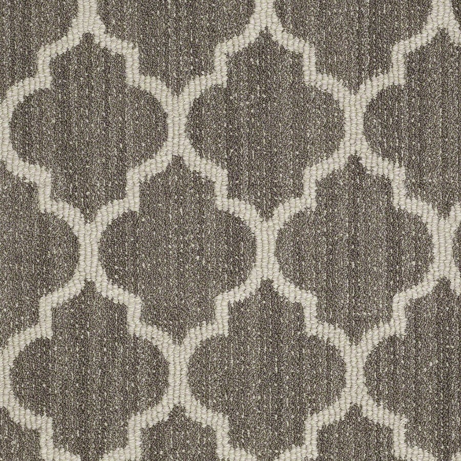 Shaw Rave Review Windsor Gray Rectangular Indoor Tufted Area Rug (Common: 8 x 11; Actual: 96-in W x 132-in L)