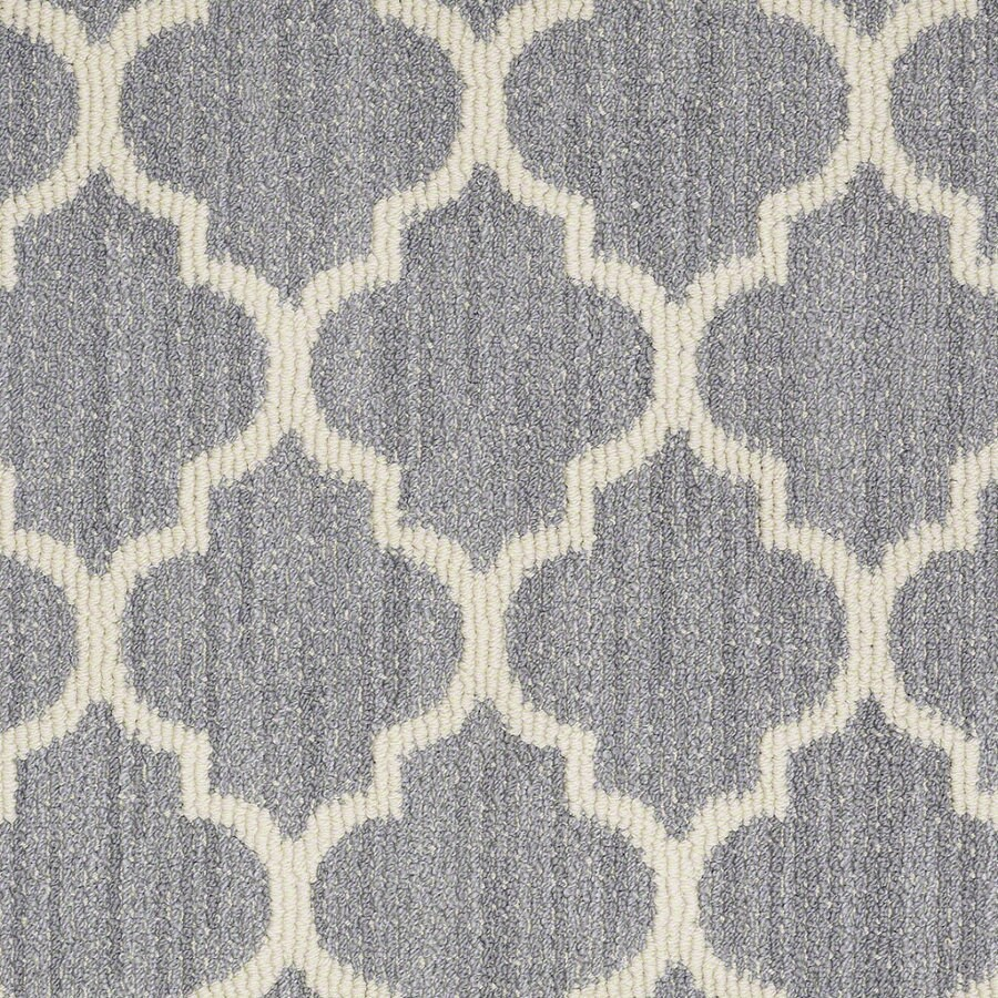 Shaw Rave Review Violet Rectangular Indoor Tufted Area Rug (Common: 8 x 11; Actual: 96-in W x 132-in L)