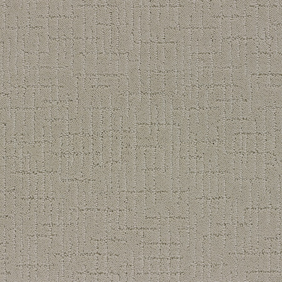 STAINMASTER TruSoft Gates Mills 12-ft W x Cut-to-Length Cameo Glow Berber/Loop Interior Carpet