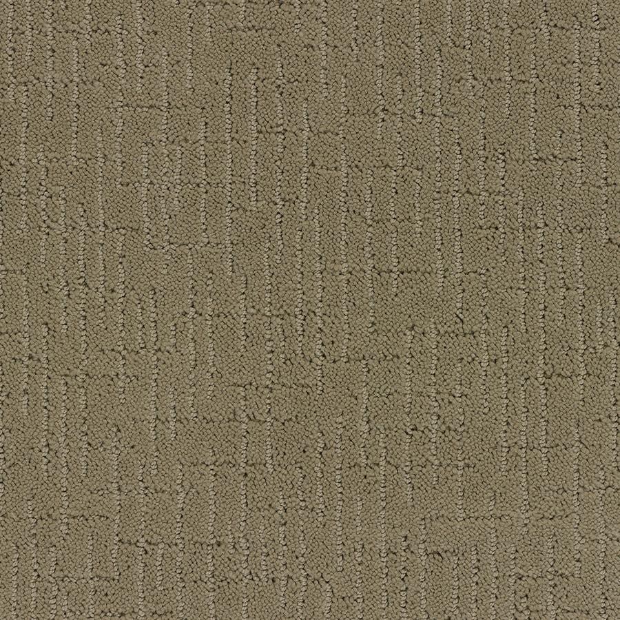 STAINMASTER TruSoft Gates Mills 12-ft W x Cut-to-Length Caramel Berber/Loop Interior Carpet