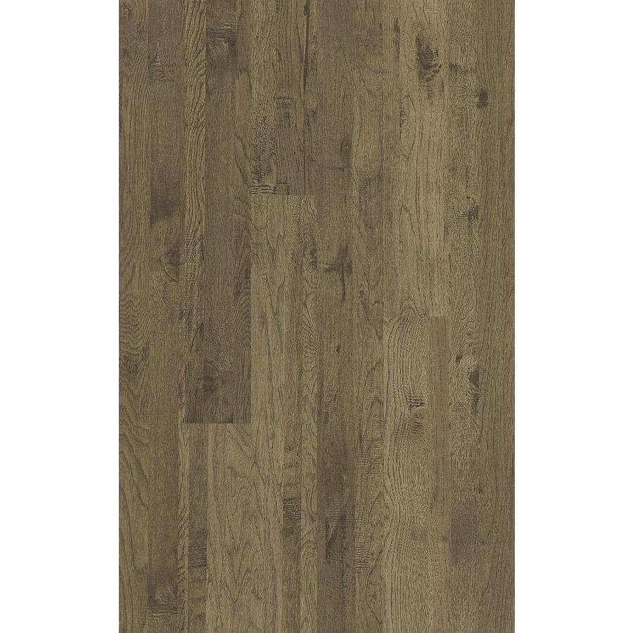 Shaw 5.43-in W x 3.98-ft L Cottonwood Handscraped Wood Plank Laminate Flooring