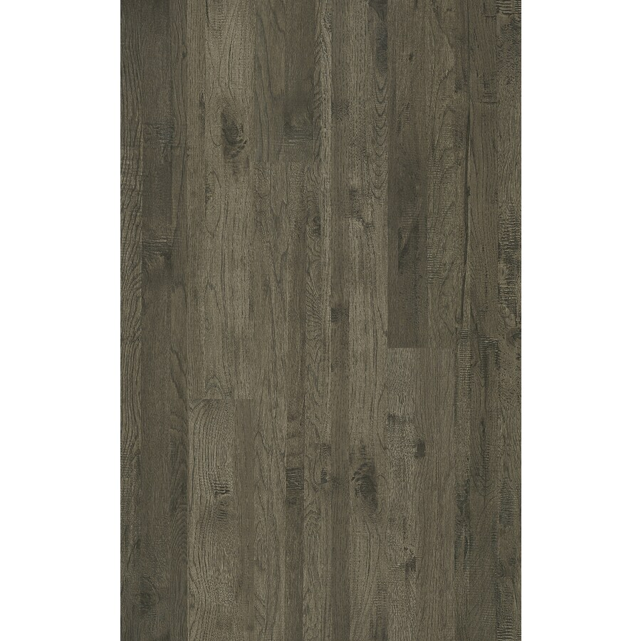 Shaw Pierce Gray 5 43 In W X 3 98 Ft L Handsed Wood Plank Laminate