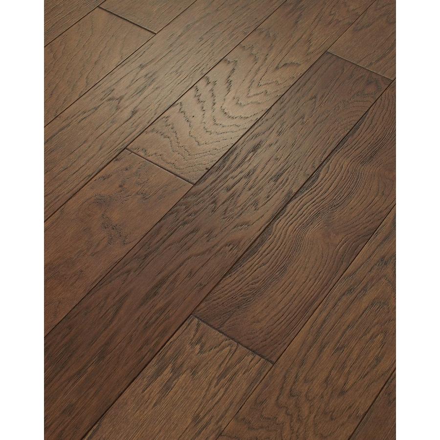 Style Selections Hickory Hardwood Flooring Sample (Mocha)