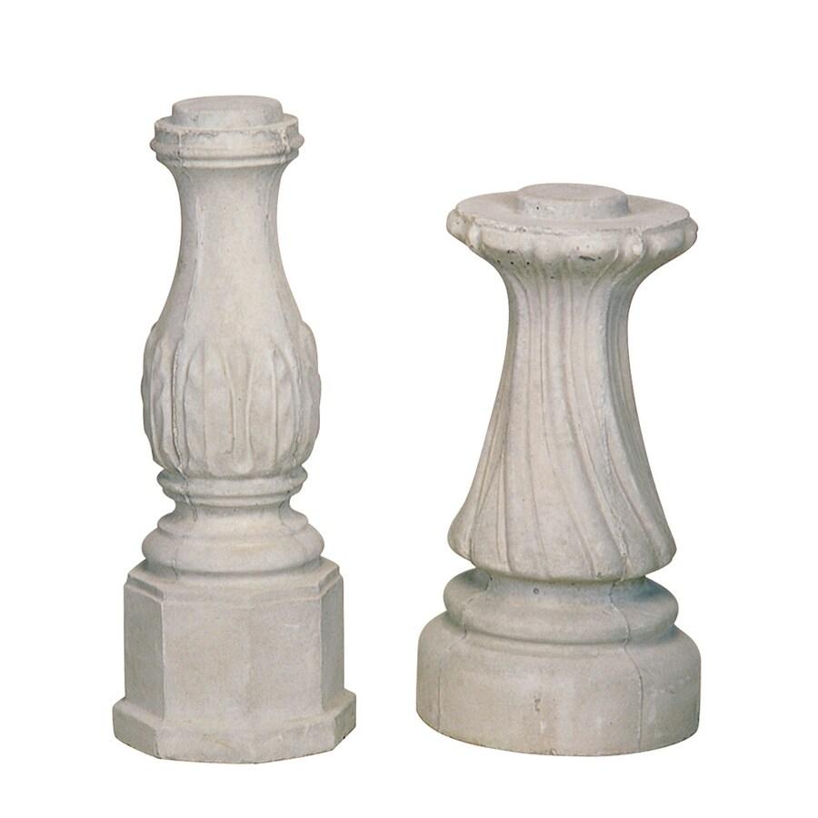 20-in H Round Concrete Birdbath Pedestal