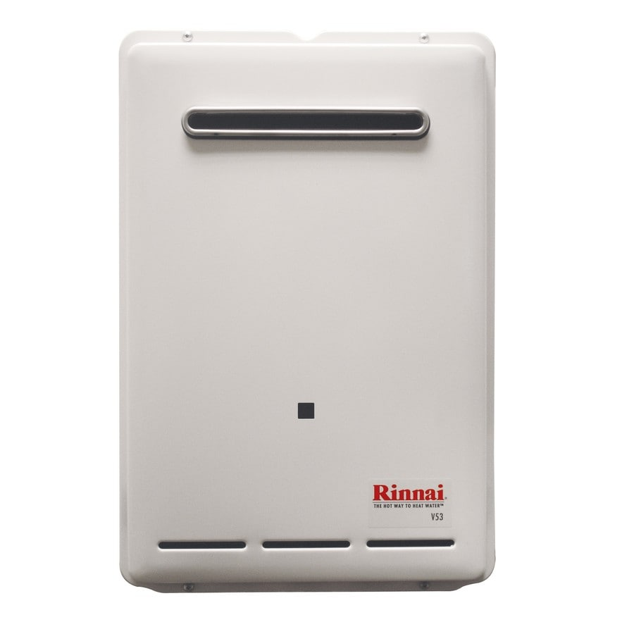 Rinnai High Efficiency 5.3-GPM 120000-BTU Outdoor Liquid Propane High Efficiency Tankless Water Heater