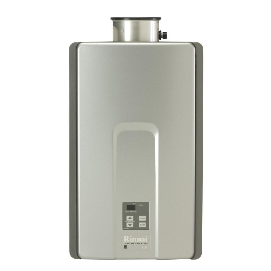 Rinnai High Efficiency+ 9.8-GPM 199000-BTU Indoor Natural Gas High Efficiency Tankless Water Heater