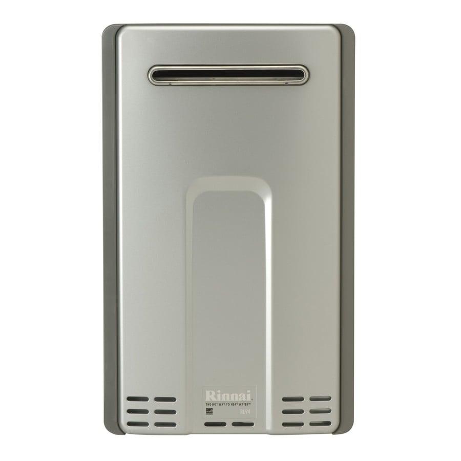 Rinnai 9.8-GPM 199000-BTU Outdoor Liquid Propane High Efficiency Tankless Water Heater