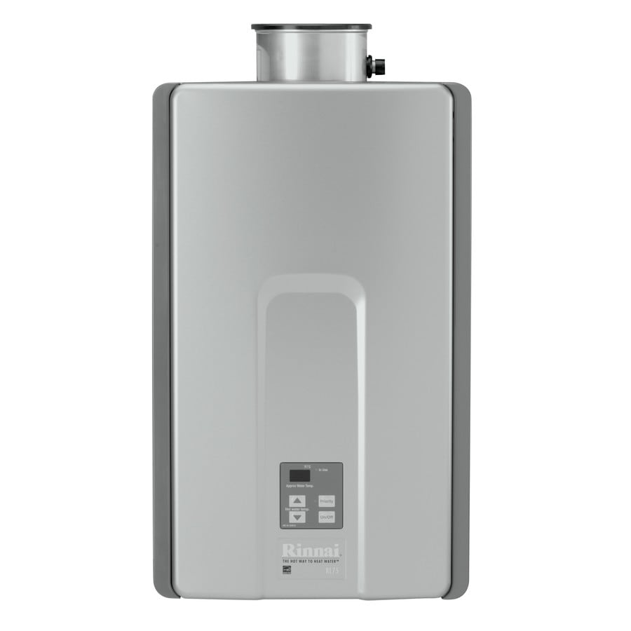 Rinnai High Efficiency+ 7.5-GPM 180000-BTU Indoor Natural Gas High Efficiency Tankless Water Heater