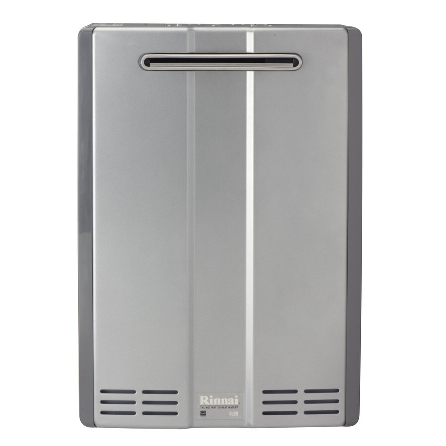 Rinnai Super High Efficiency+ 8-GPM 152000-BTU Outdoor Natural Gas Super High Efficiency Tankless Water Heater