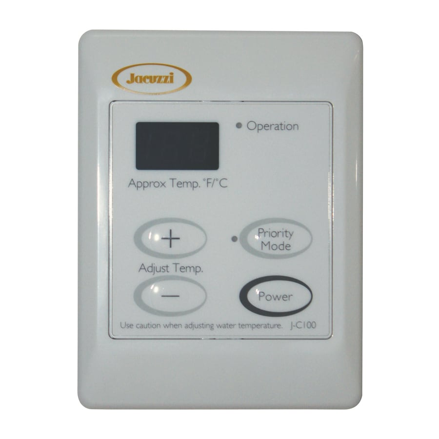 Jacuzzi Tankless Gas Water Heater Controller