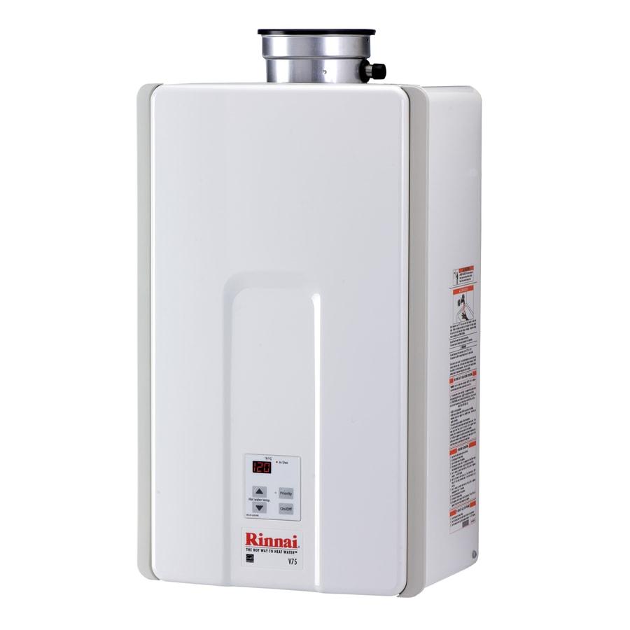 Rinnai High Efficiency 7.5-GPM 180000-BTU Indoor Liquid Propane High Efficiency Tankless Water Heater