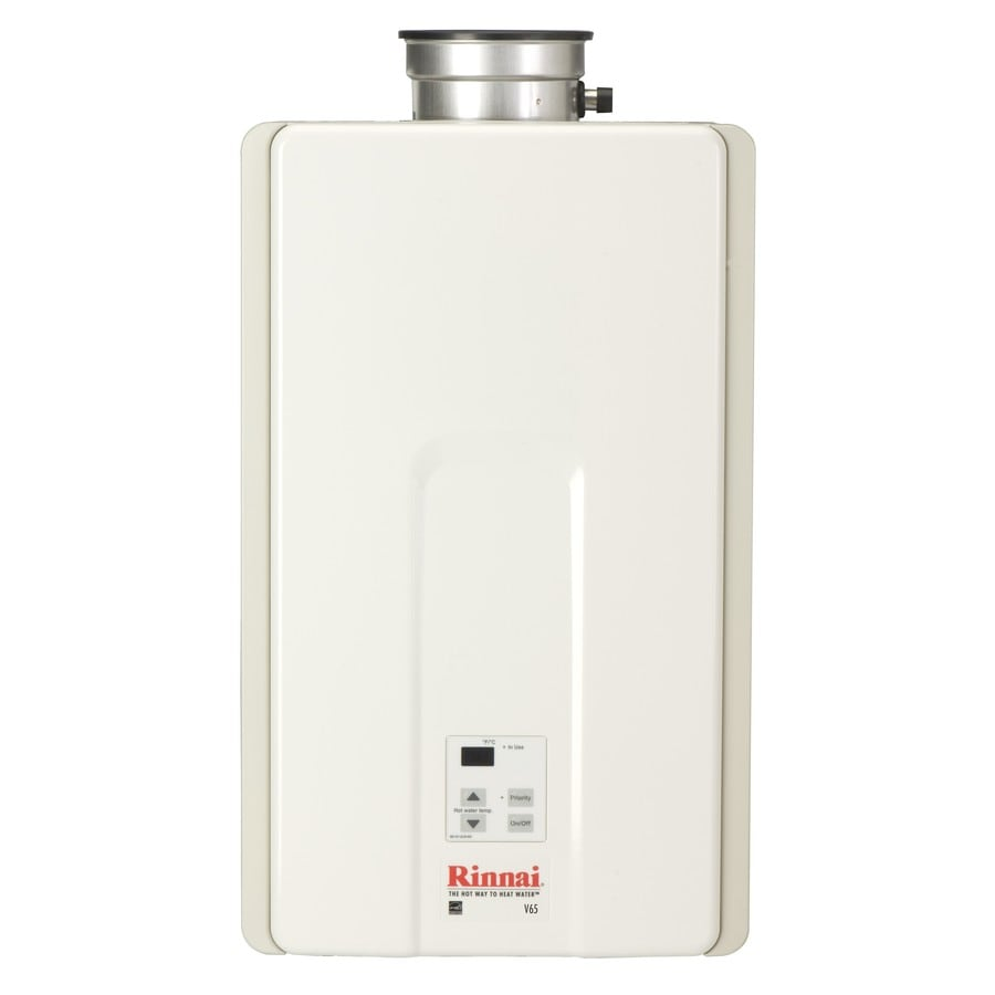 Rinnai 6.6-GPM 150,000-BTU Indoor Liquid Propane High-Efficiency Tankless Water Heater