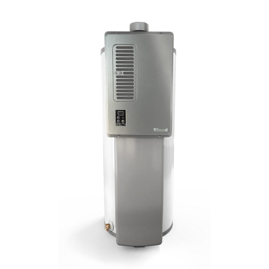 Rinnai Hybrid 40-GPM 91300-BTU 1-Year Limited Natural Gas Hybrid Water Heater