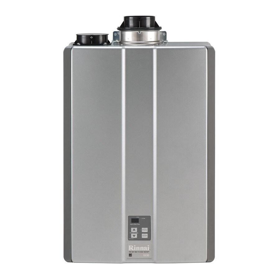 Rinnai Super High Efficiency+ 8-GPM 152000-BTU Indoor Natural Gas Super High Efficiency Tankless Water Heater