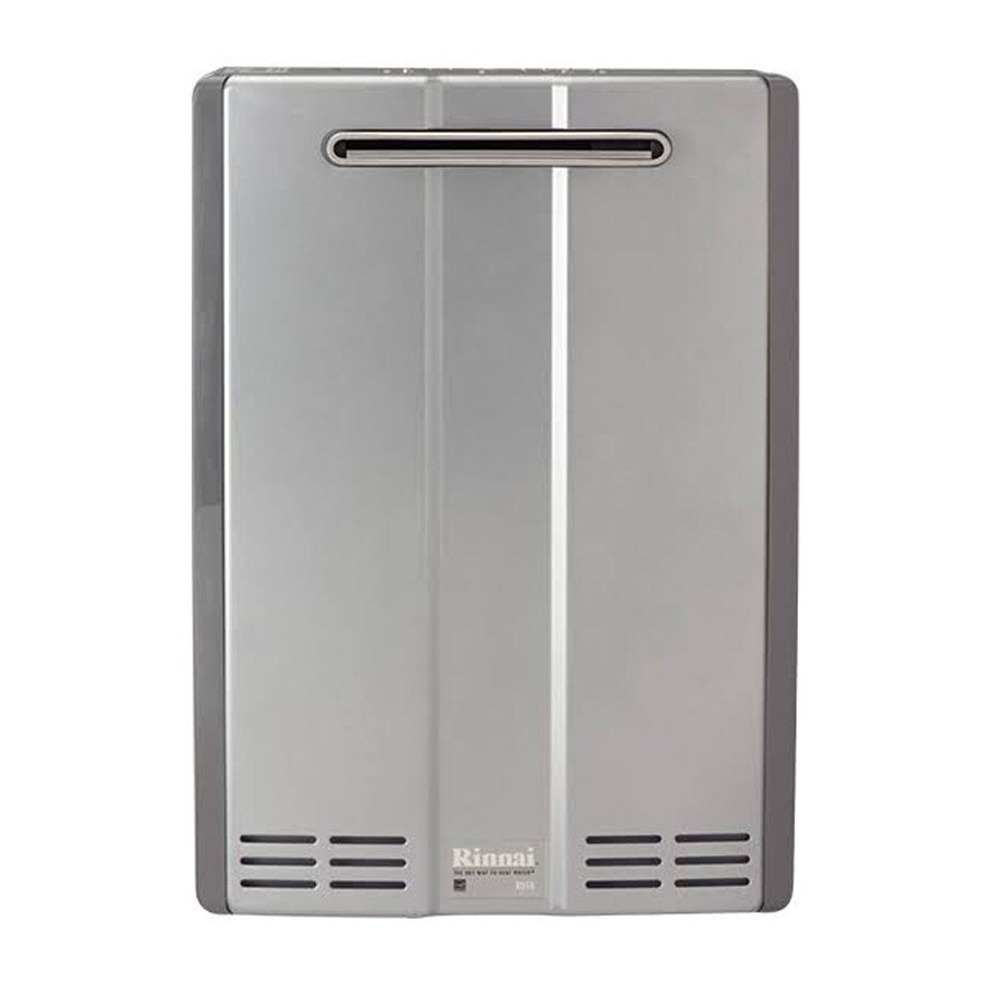 Rinnai Super High Efficiency+ 9-GPM 180000-BTU Outdoor Natural Gas Super High Efficiency Tankless Water Heater