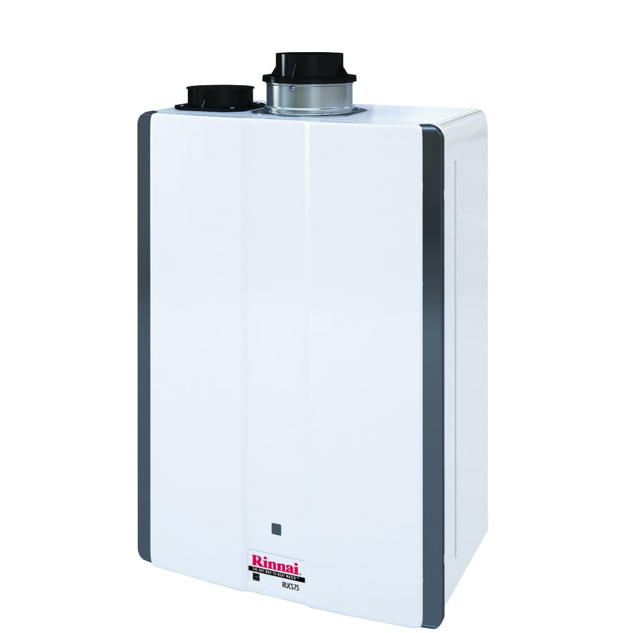 rinnai super high efficiency 75 gpm 160 btu indoor natural gas super high efficiency energy star qualified energy guide need this water heater installed - Lowes Water Heater Installation Cost