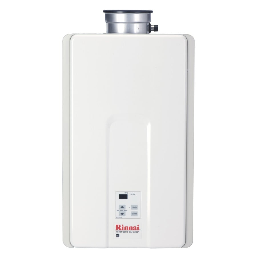 Rinnai 9.8-GPM 199000-BTU Indoor Natural Gas High Efficiency Tankless Water Heater