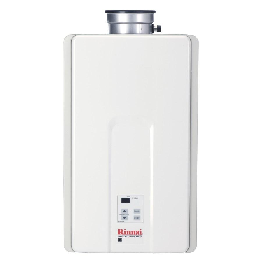 Rinnai High Efficiency 9.8-GPM 199000-BTU Indoor Liquid Propane High Efficiency Tankless Water Heater