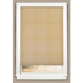 allen + roth Linen Light Filtering Cordless Polyester Cellular Shade (Common: 29-in; Actual: 29-in x 72-in)