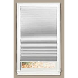 allen + roth White Blackout Cordless Polyester Cellular Shade (Common: 23-in x 64-in; Actual: 23-in x 64-in)