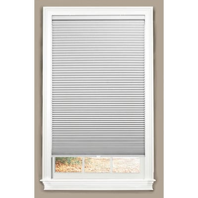 White Blackout Cordless Cellular Shade Actual 34 In X 64
