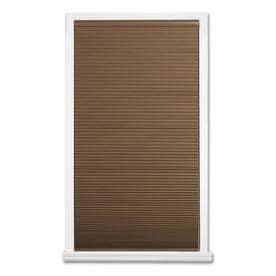 allen + roth Linen Blackout Cordless Polyester Cellular Shade (Common: 23-in x 64-in; Actual: 23-in x 64-in)