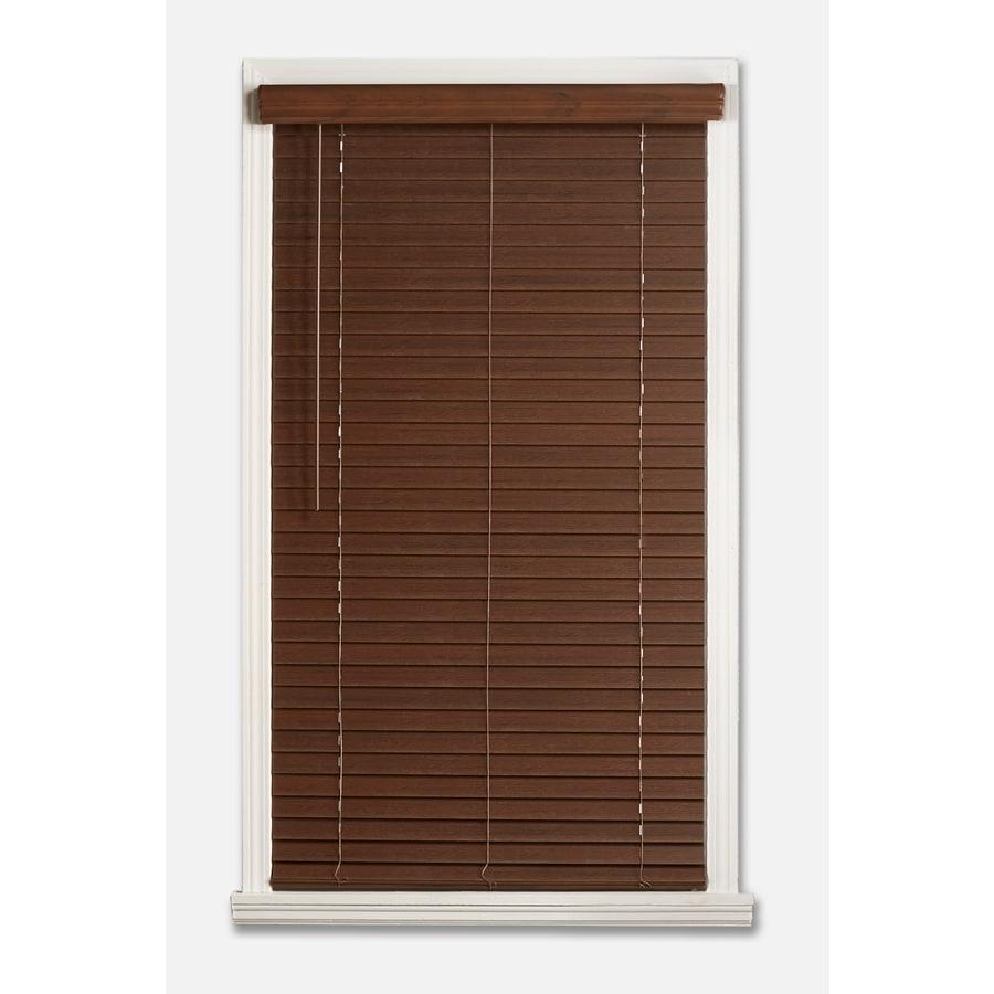 Shop A R 2 In Cordless Dark Walnut Faux Wood Door