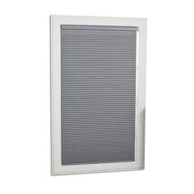 a + r Gray Blackout Cordless Polyester Cellular Shade (Common: 34-in x 64-in; Actual: 34-in x 64-in)