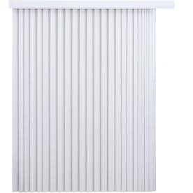 87aee15def2 Project Source 3.5-in Cordless White Vinyl Light Filtering Vertical Blinds  (Common  78