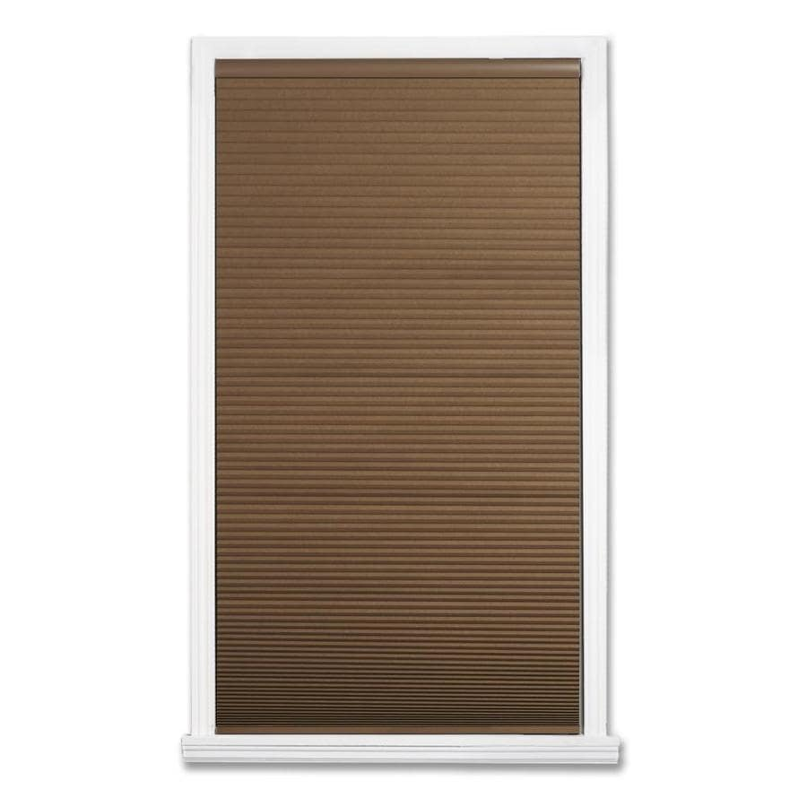 allen + roth Linen Blackout Cordless Polyester Cellular Shade (Common 35-in; Actual: 35-in x 64-in)
