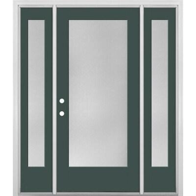 Masonite Clear Gl Evergreen Fibergl Painted Entry Door