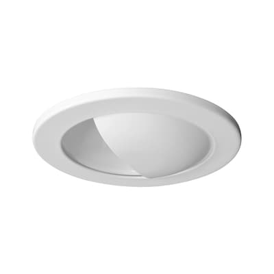 Nicor Lighting White Wall Wash Recessed Light Trim Fits
