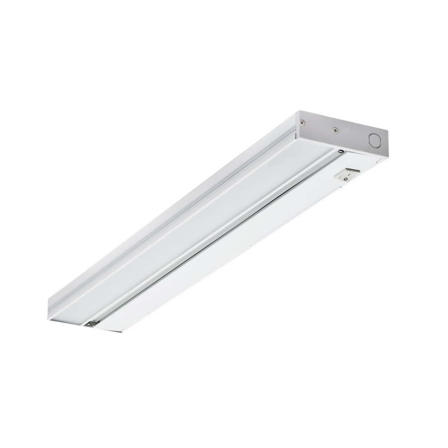 Nicor Lighting 21.5-in Hardwired Under Cabinet LED Light Bar