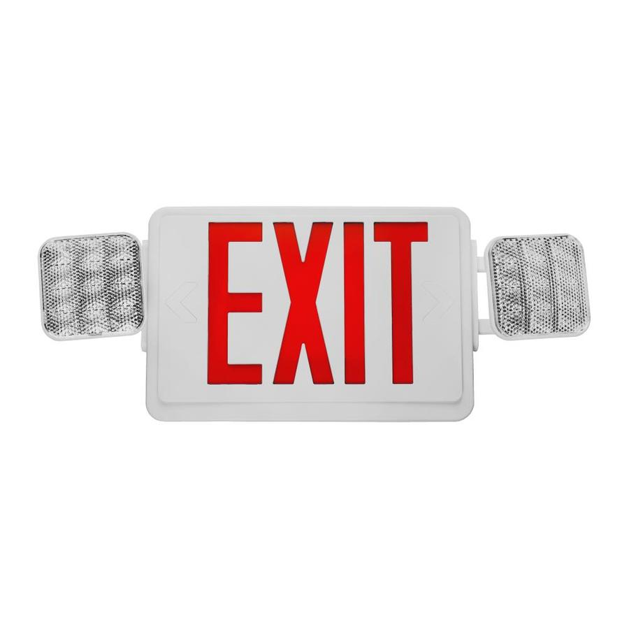 Nicor Lighting Red LED Exit Light