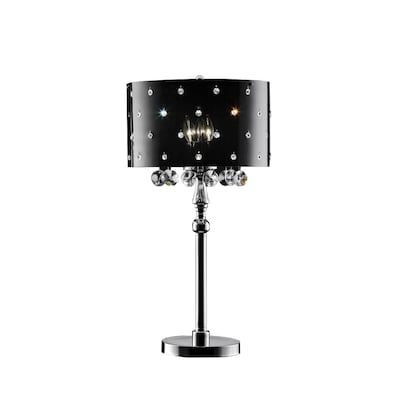 Ok 31 In Polished Chrome Touch On Off Indoor Table Lamp With