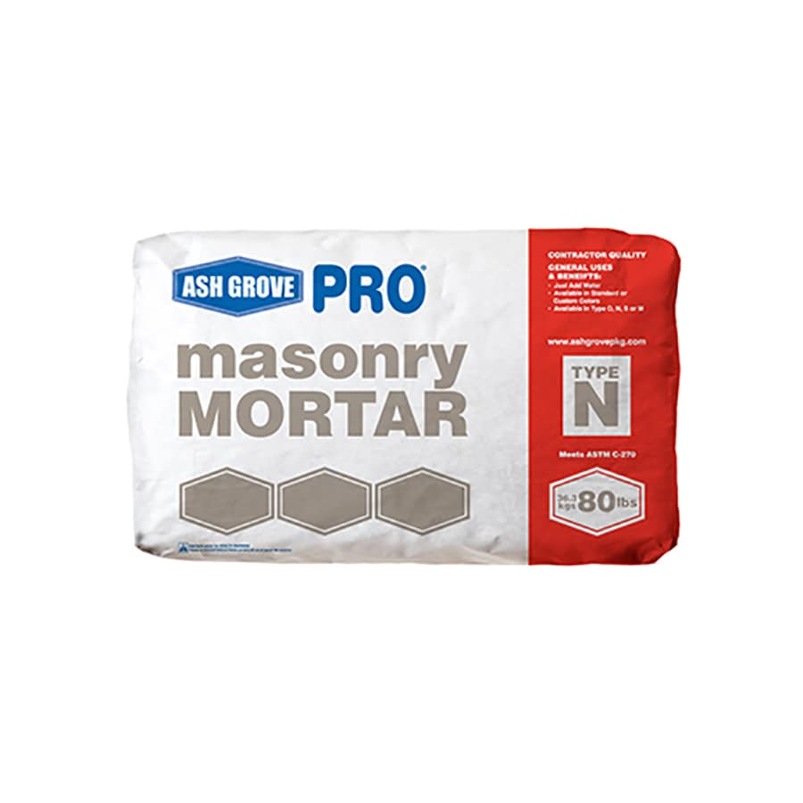Ash Grove 80-lb Gray Type - N Mortar Mix