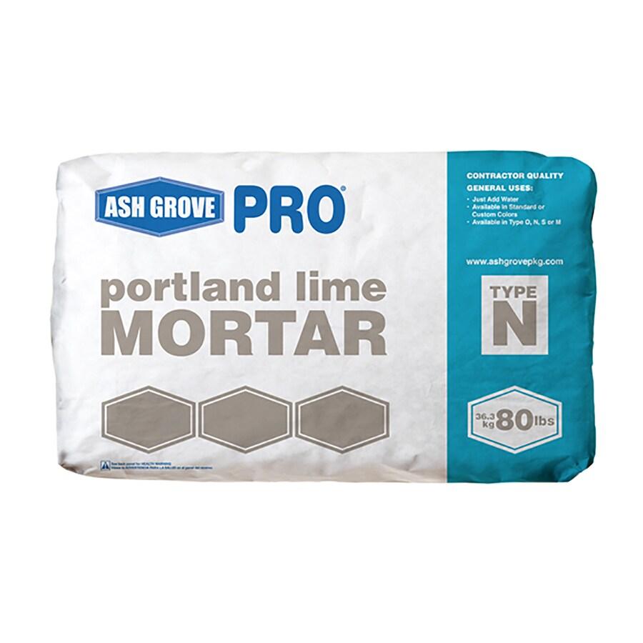 Ash Grove 80-lb Gray Type-N Mortar Mix