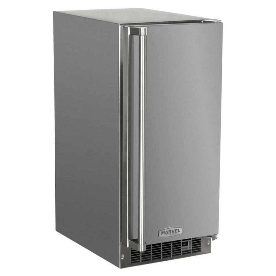 MARVEL 34-lb Freestanding/Built-in Ice Maker (Stainless Steel Cabinet Stainless Steel Door)