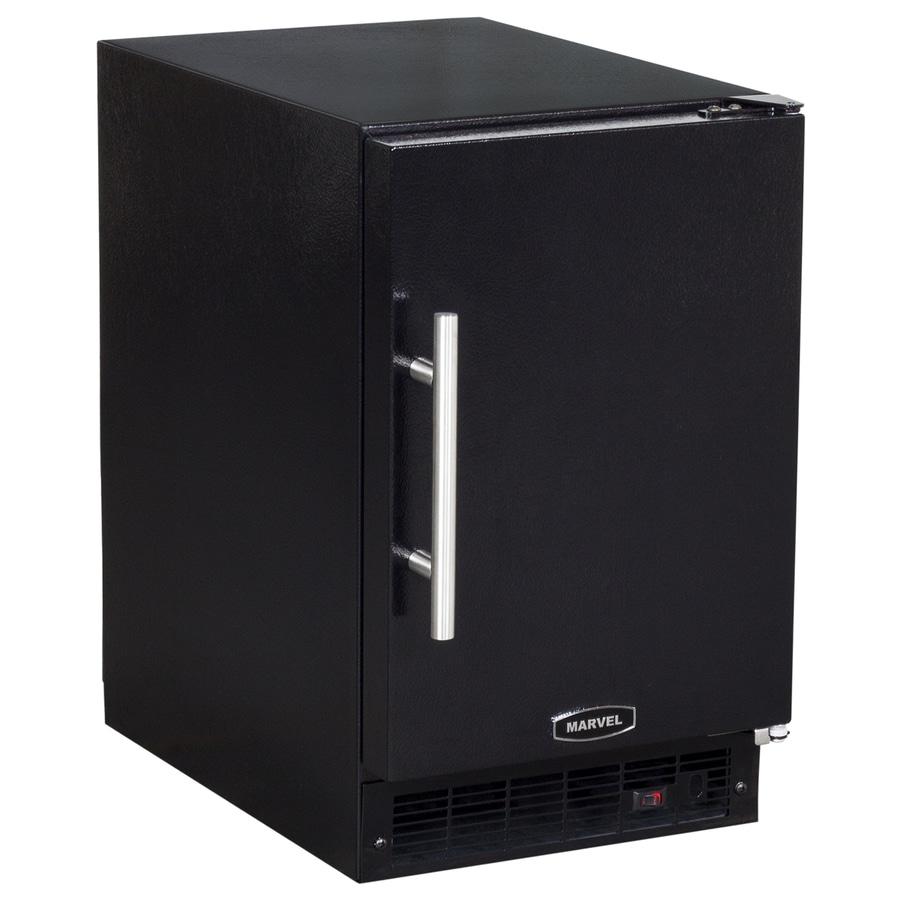 MARVEL 7-lb Ice Maker (Black Cabinet and Black Door)