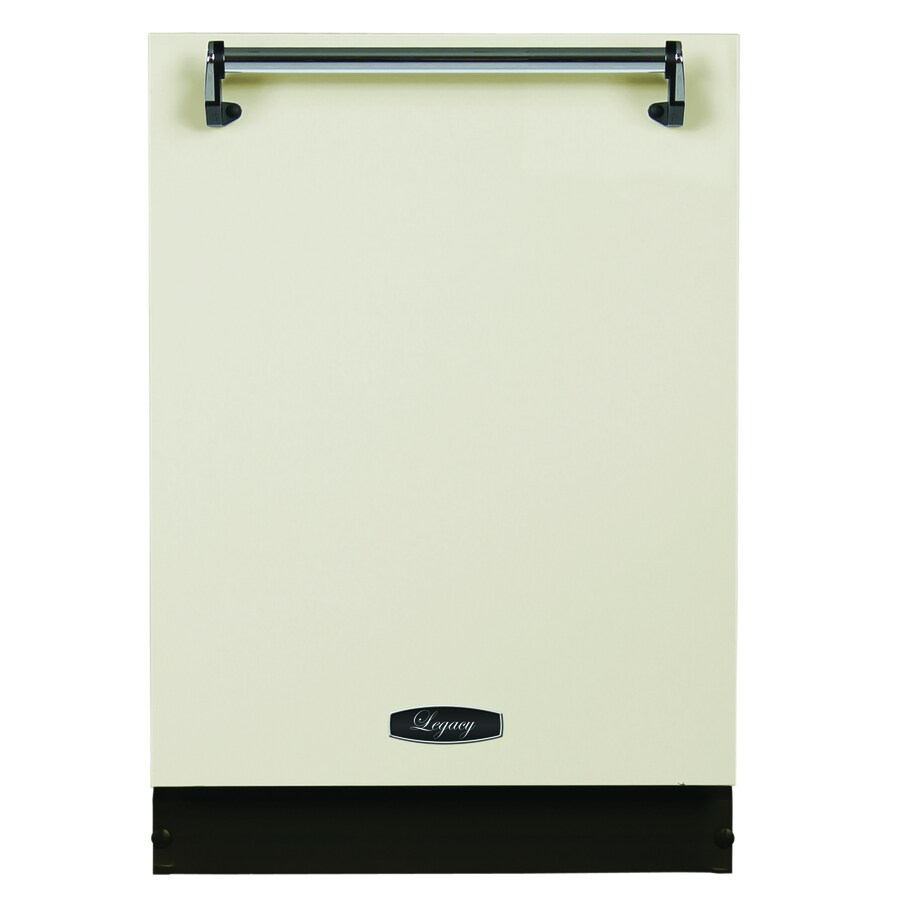 AGA Legacy 51-Decibel Built-in Dishwasher (Ivory) (Common: 24-in; Actual: 23.875-in)