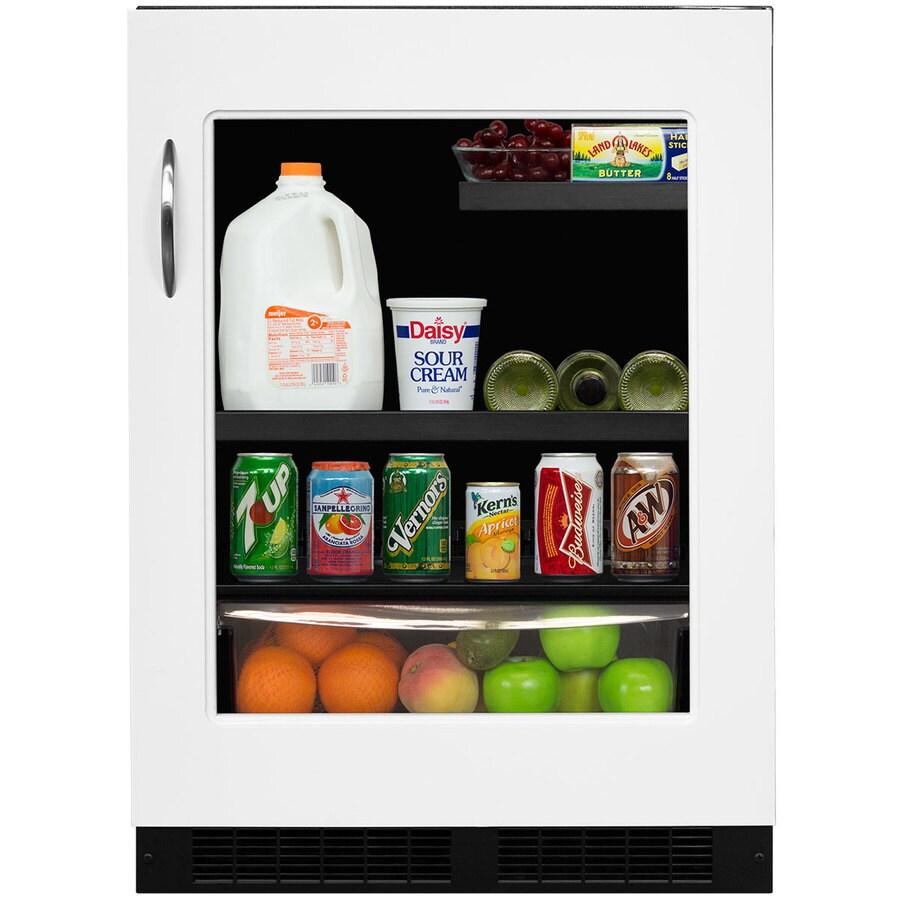 MARVEL 5.3-cu ft Black Built-In/Freestanding Beverage Center