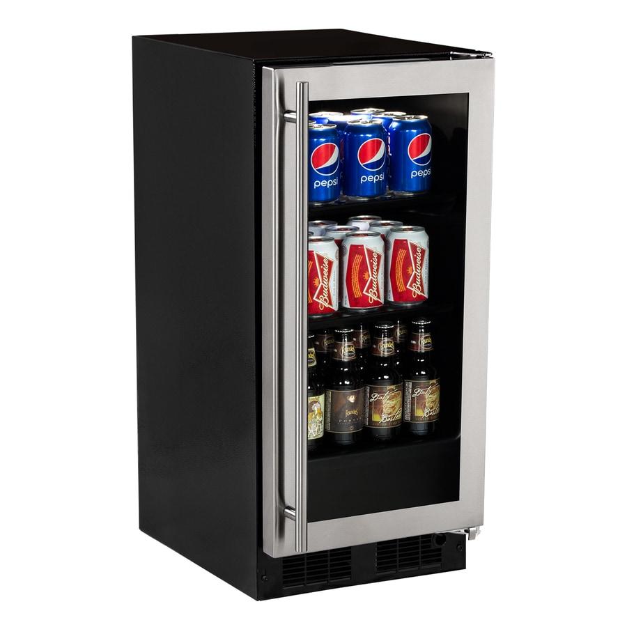 MARVEL 2.8-cu ft Stainless Steel Built-In/Freestanding Beverage Center